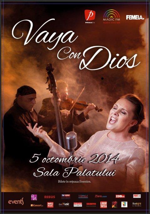 Trei lucruri pe care nu le știati despre Dani Klein, vocea Vaya con Dios