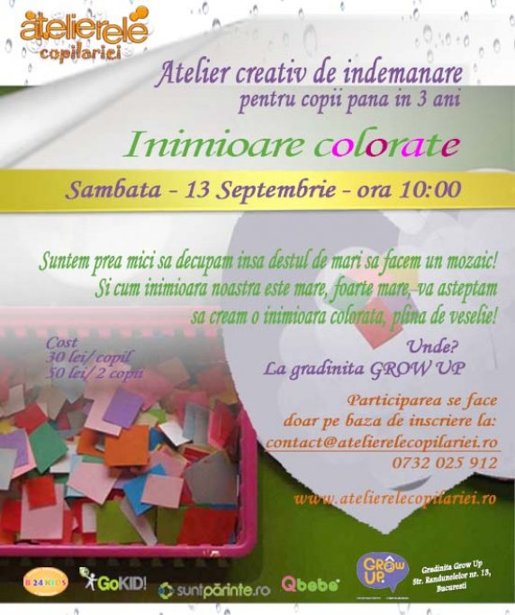 Atelier de creativitate si indemanare - Arts&Crafts