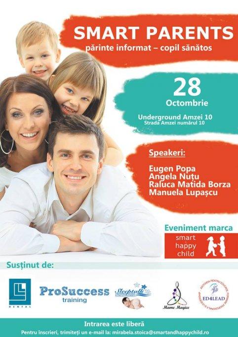 Smart Parents, părinte informat – copil sănătos