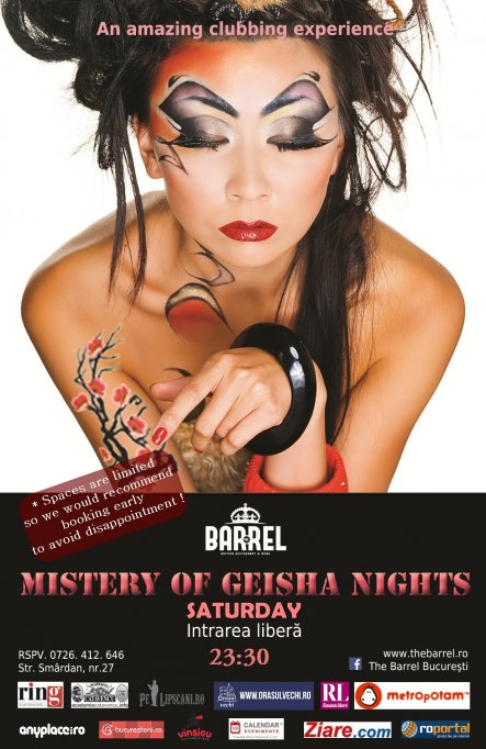 Mistery of Geisha Nights Party