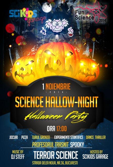 Science Hallow-Night