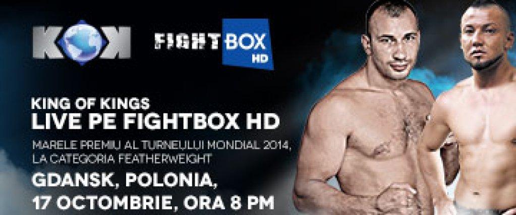 """Marele Premiu al Turneului Mondial """"King of kings"""" - Vineri, 17 octombrie 2014, la FightBox-"""