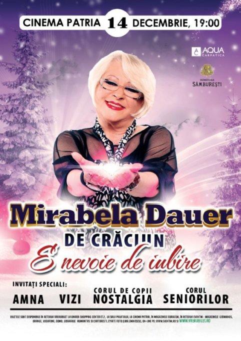 Mirabela Dauer - De Craciun - E nevoie de iubire