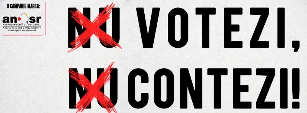 Studentii le cer candidatilor la alegerile prezidentiale motive pentru a iesi la vot