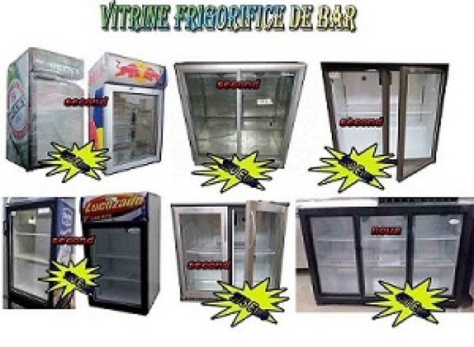Vitrine frigorifice de bar second hand