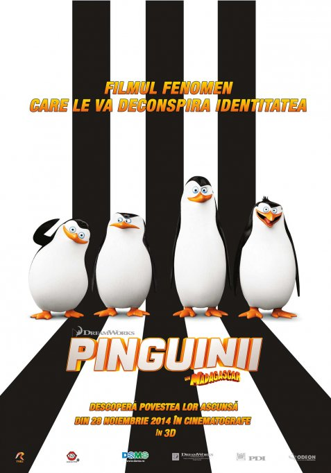 Pinguinii din Madagascar 3D DUB