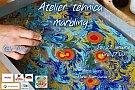 Atelier Paper Marbling, 22 ianuarie 2015