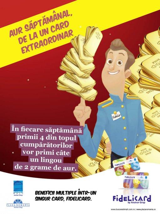 Bucuresti Mall si Plaza Romania le ofera aur celor mai entuziasti cumparatori