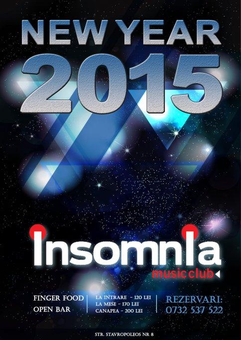 Revelion 2015 la Insomnia