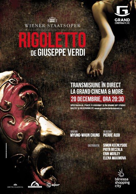 """""""Rigoletto"""" si """"Spargatorul de Nuci"""" – ultimele doua spectacole ale acestui an transmise in direct la Grand Cinema & More"""