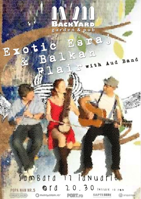 Exotic Esraj & Balkan Flair - with Aud Band