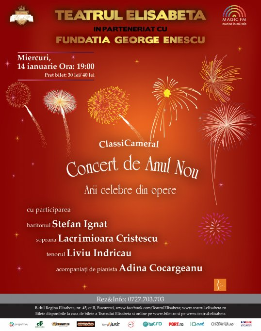 """ClassiCameral: """"Concert de Anul Nou"""""""