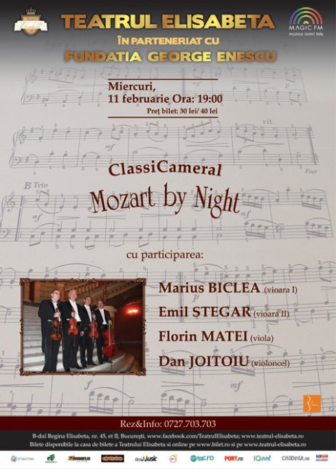 ClassiCameral: Mozart by Night