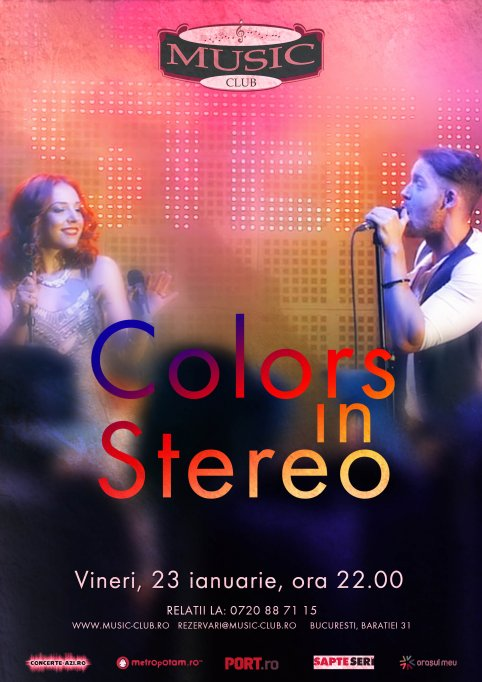 COLORS IN STEREO: Live Band Concert @ Music Club