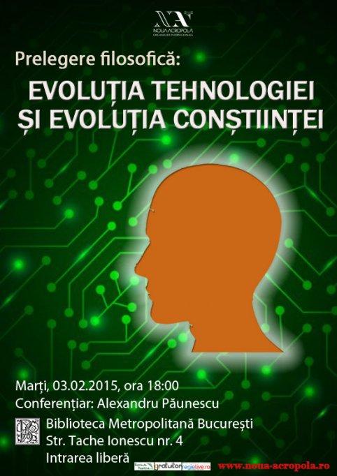Evoluția tehnologiei și evoluția conștiinței