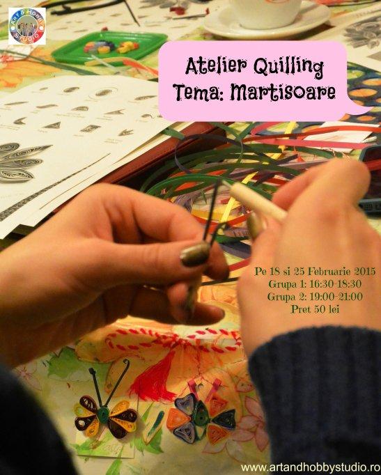 Atelier quilling – Martisoare