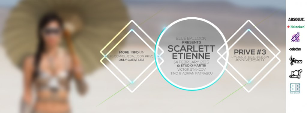 PRIVE #3 // 2 YEARS OF BLUE BALLOON ANNIVERSARY // SCARLETT ETIENNE