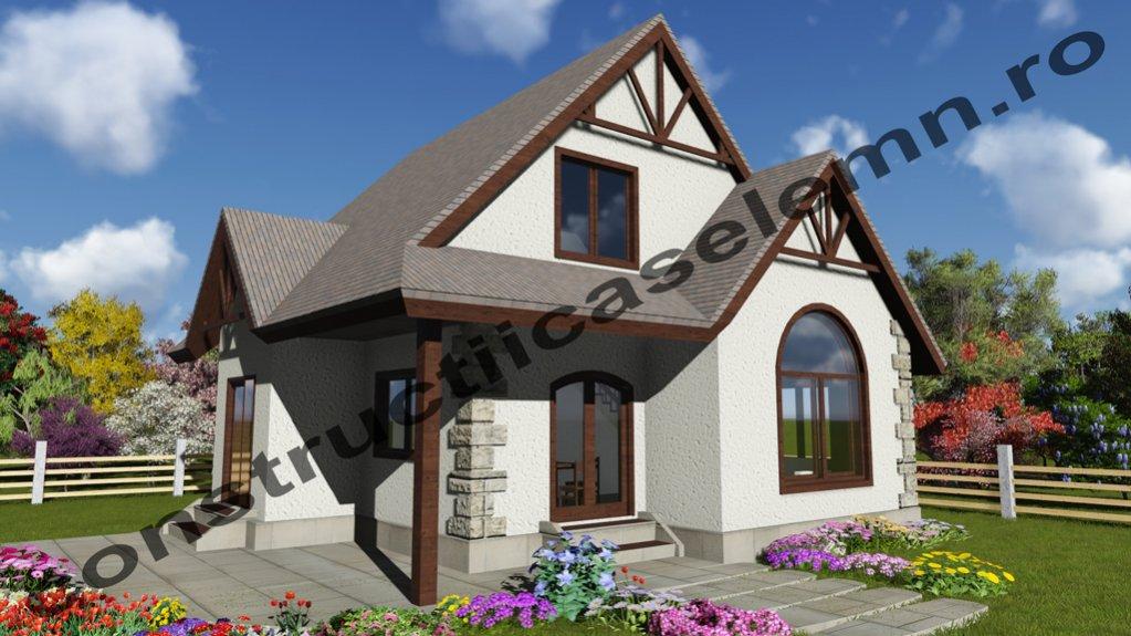 Construim case din lemn