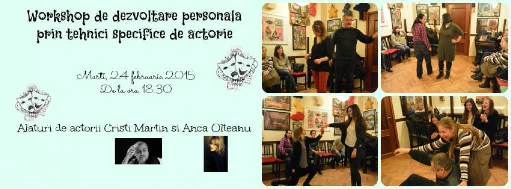 Workshop de actorie