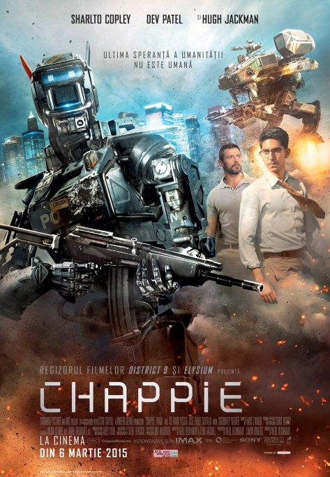 Chappie vine in cinematografele din Romania pe 6 martie!