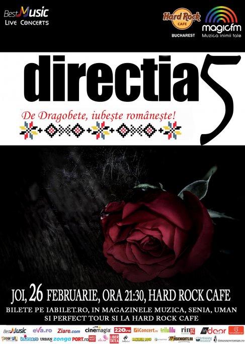 Iubeste romaneste cu Directia 5: o categorie de bilete este SOLD OUT