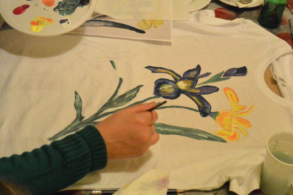 Atelier de pictura pe tricouri