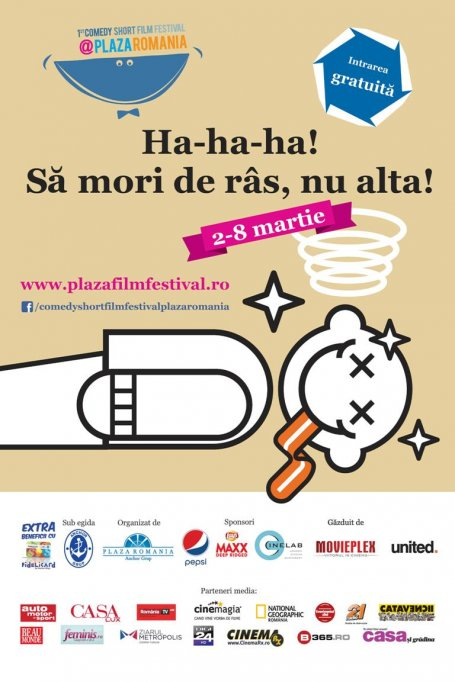 """""""Amintiri din Epoca de Aur""""si RObotzi la Comedy Short Film Festival @ Plaza Romania"""