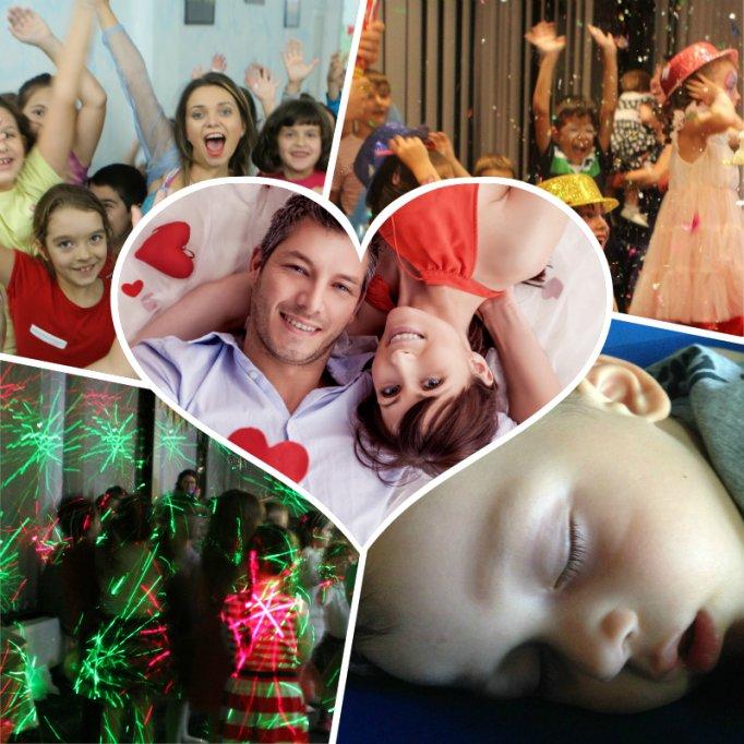 Valentine's Day pentru copii cu petrecere, sleepover si mese incluse
