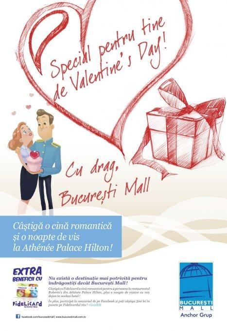 Jocuri si premii pentru cupluri la Bucuresti Mall