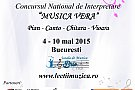 "Concursul National de Interpretare ""Musica Vera"""