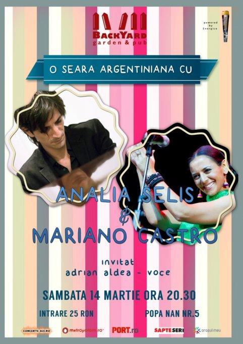 O seara argentiniana - cu Analia Selis si Mariano Castro
