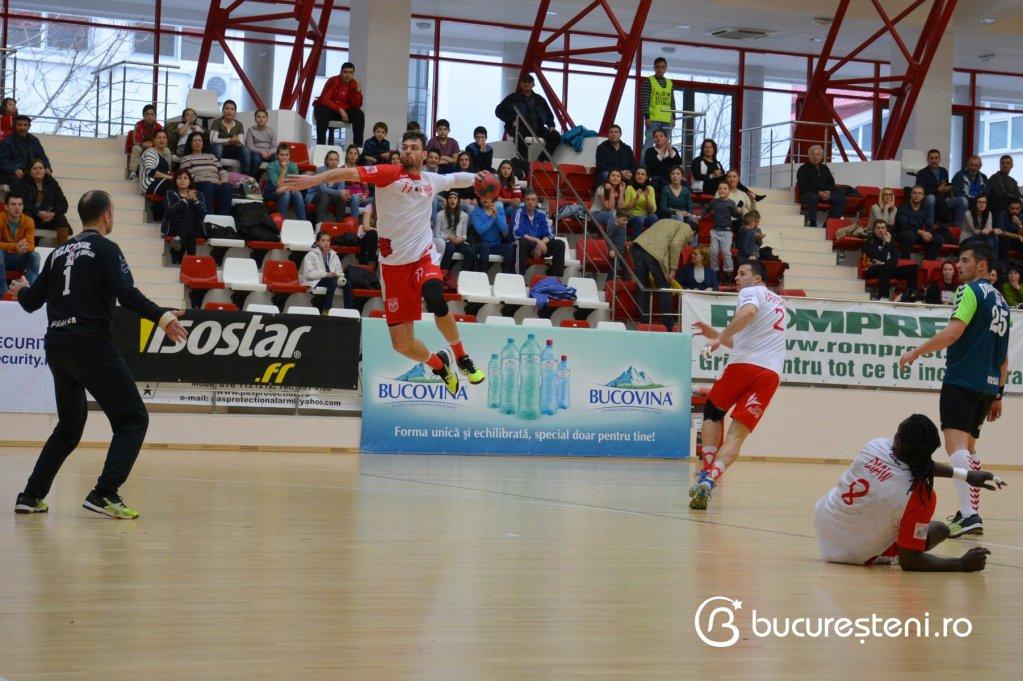 Dinamo Bucuresti 27-26 HC Vaslui