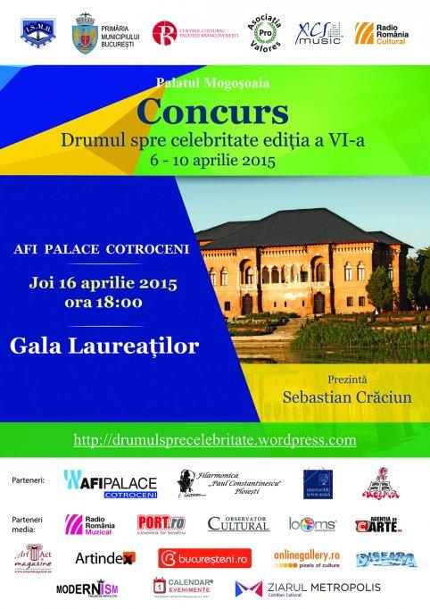 Gala Laureatilor concursului Drumul spre celebritate