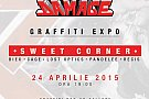 Sweet Damage Crew & Corner Shop – Sweet Corner Graffiti Expo - (Corner Backyard, București)