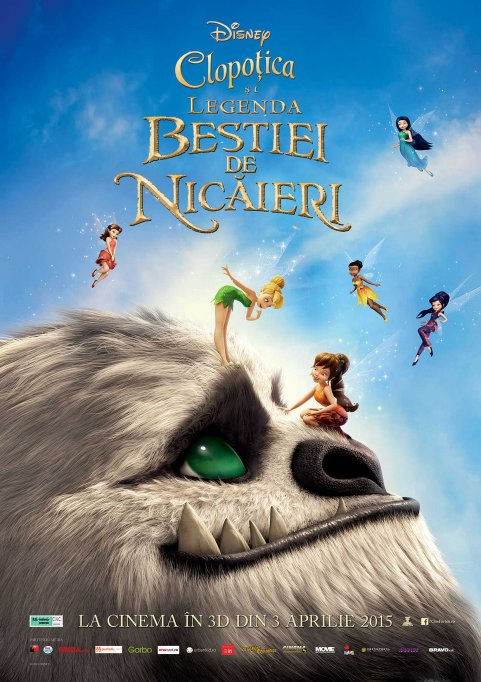 Tinkerbell:The legend of neverbeast 2D dubbed
