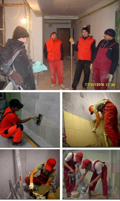 Executam renovari apartamente