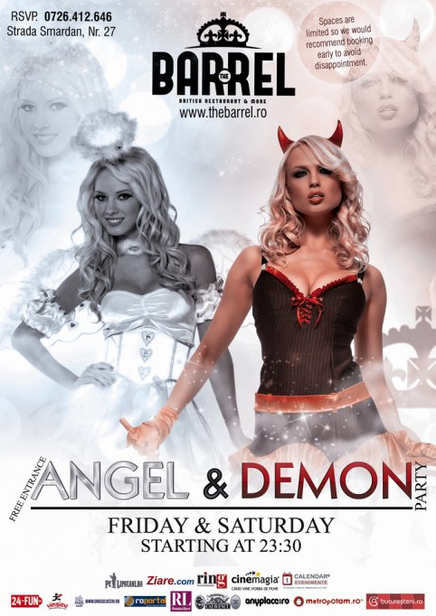 Angel & Demon Party @ The Barrel