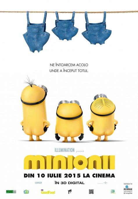 Minionii 3D Dublat