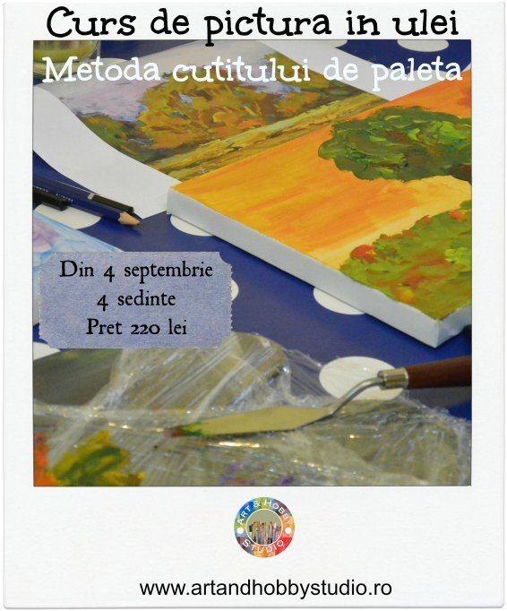 Curs de pictura in ulei