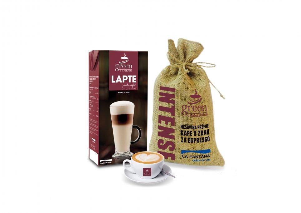 La Fântâna lansează Green, brand-ul propriu de cafea și produse complementare