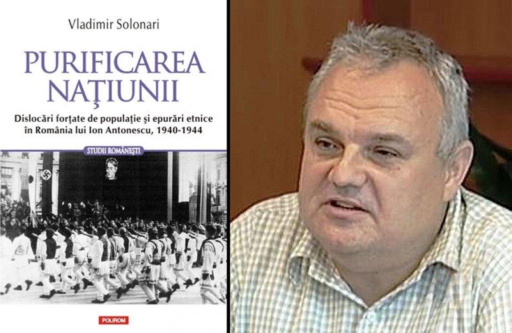 """Purificarea natiunii de Vladimir Solonari, in colectia """"Studii Romanesti"""" a Editurii Polirom"""