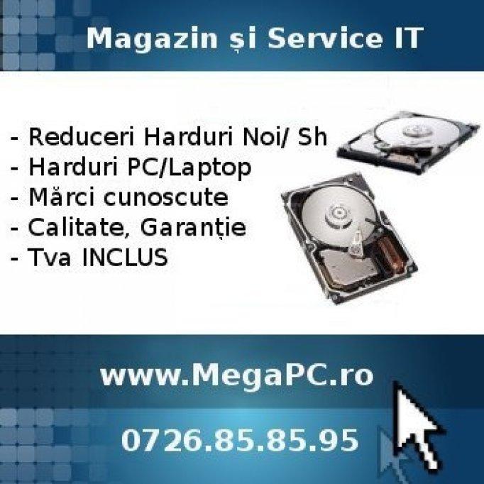 Reduceri Harduri pentru Laptop Noi si Sh
