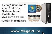 Calculatoare si Licente Windows ieftine, de la 160 RON