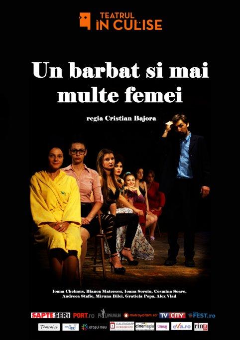 Despre bărbatul care a reușit să înțeleagă femeile Avanpremiera la Teatrul În Culise: Un barbat si mai multe femei
