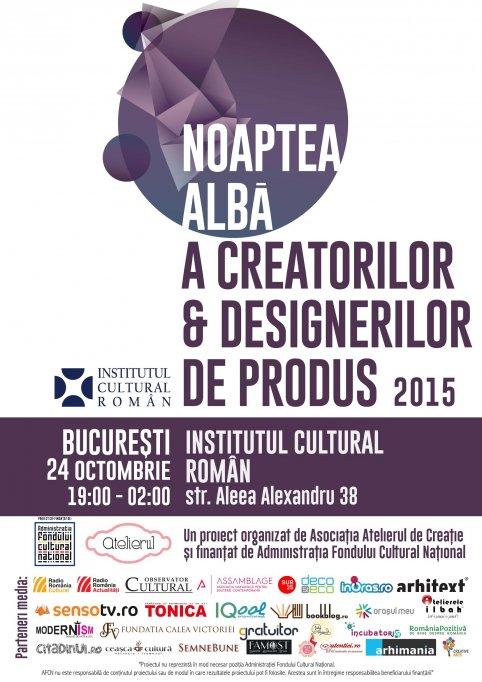 Noaptea Alba a Creatorilor & Designerilor de produs