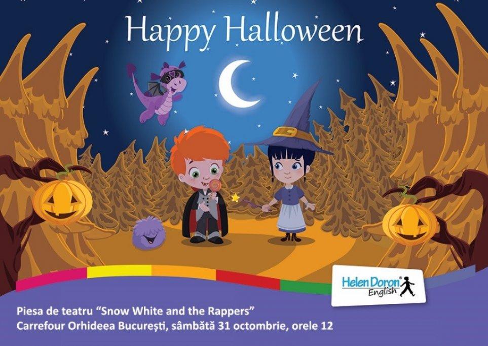 Proiect international Helen Doron English, de Halloween