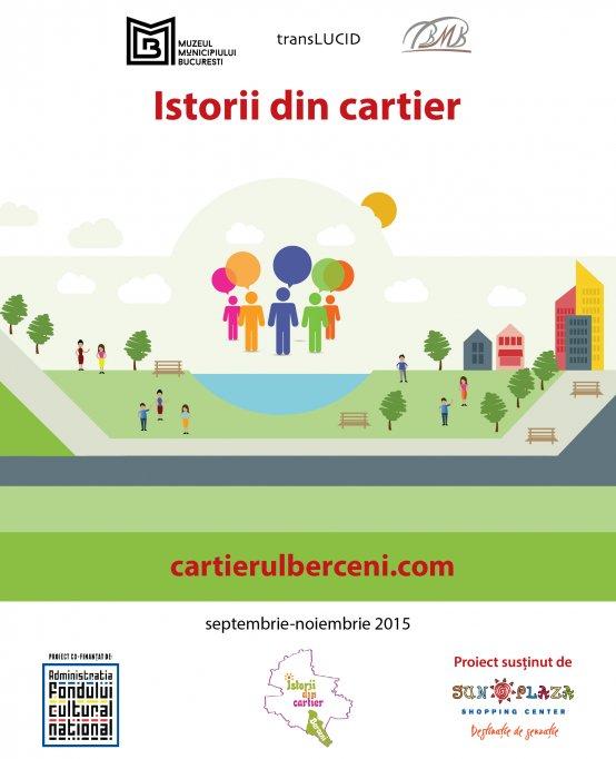 Istorii din cartier - cel mai recent proiect cultural al Muzeului Municipiului Bucuresti