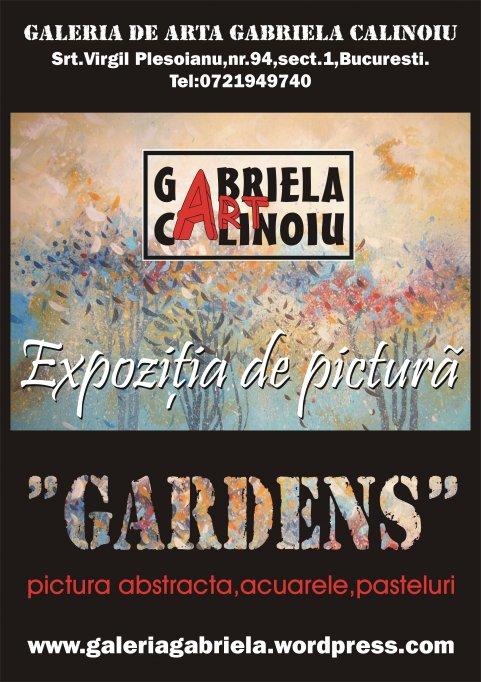 "Expozitia de pictura abstracta ""GARDENS"""