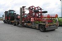 Transport utilaje cu platforma