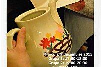 Atelier de pictat ceainice